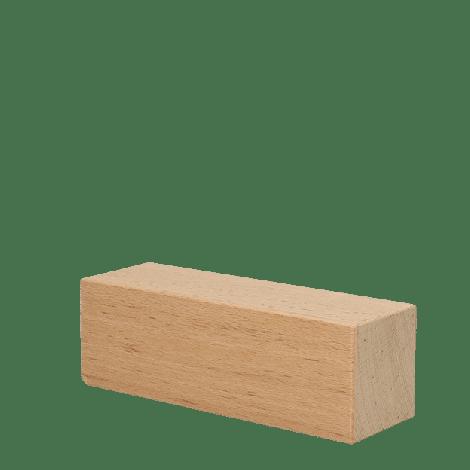 Houten blokken rechthoek