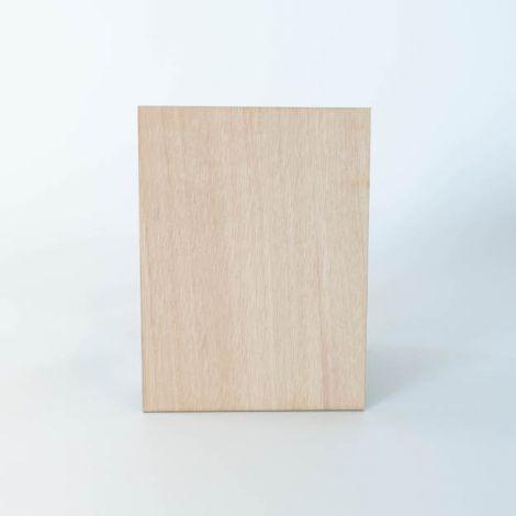 Houten kaart 15x20cm