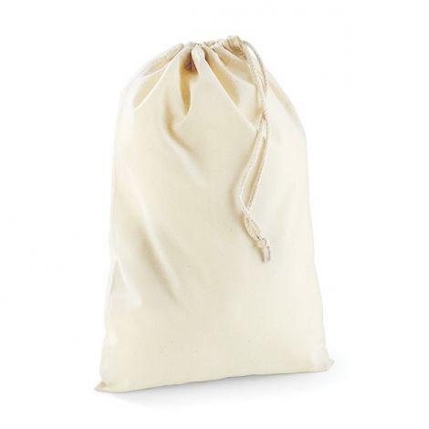 Katoenen zak naturel
