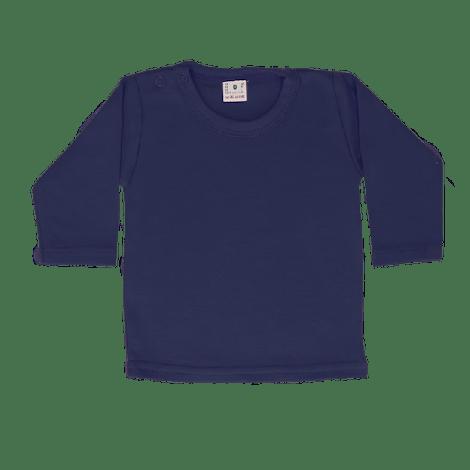 Shirt lange mouw donkerblauw