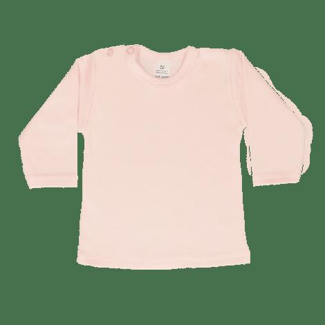 Shirt lange mouw lichtroze
