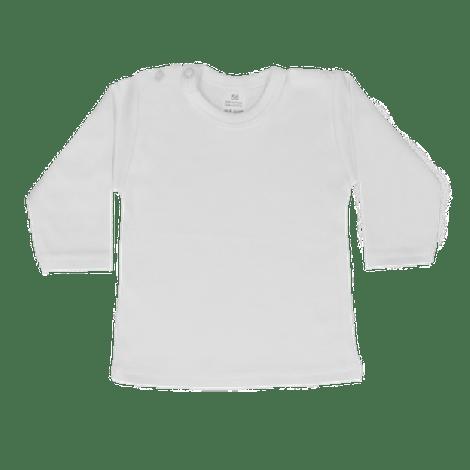 Shirt lange mouw wit