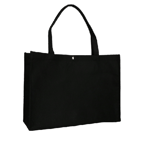 Vilten tas zwart